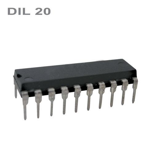 89C2051-24PU   DIL20  IO