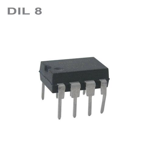 CMOS TLC555CP = NE555CN,TS555CN(IN)  DIL8   IO
