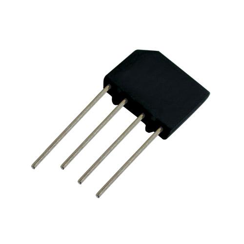 Můstek diod.  2A/1000V   KBP10   plochý