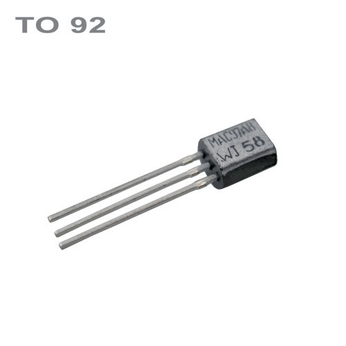 Tranzistor BC547C  NPN 45V,0.1A,0.5W,100MHz  TO92