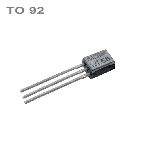 MPSA42/MPSA44  NPN 300V,0.1A,0.30W,50MHz  TO92