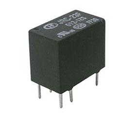 Relé 12V 0.5A/125VAC  1x přep.   JRC-23F 012-1ZS