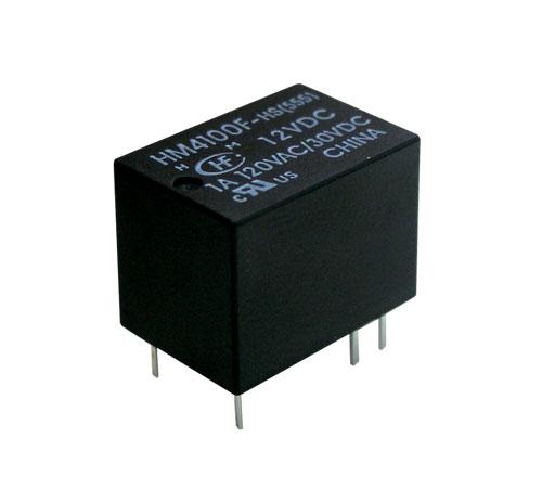 Relé 12V 1A/125VAC  1x přep.  HFD41/012-HS