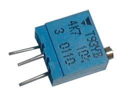 Trimr   4k7 víceotáčkový Spectrol