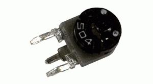 Trimr 500R stojatý  5mm