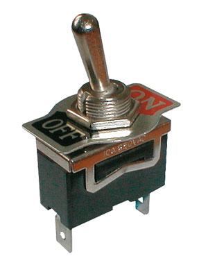 Přepínač páčkový  2pol./2pin  ON-OFF 250V/10A