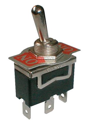 Přepínač páčkový  2pol./3pin ON-ON  250V/10A