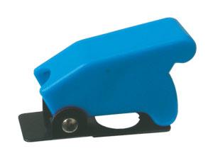Přepínač páčkový  ochran.kryt -  modrý