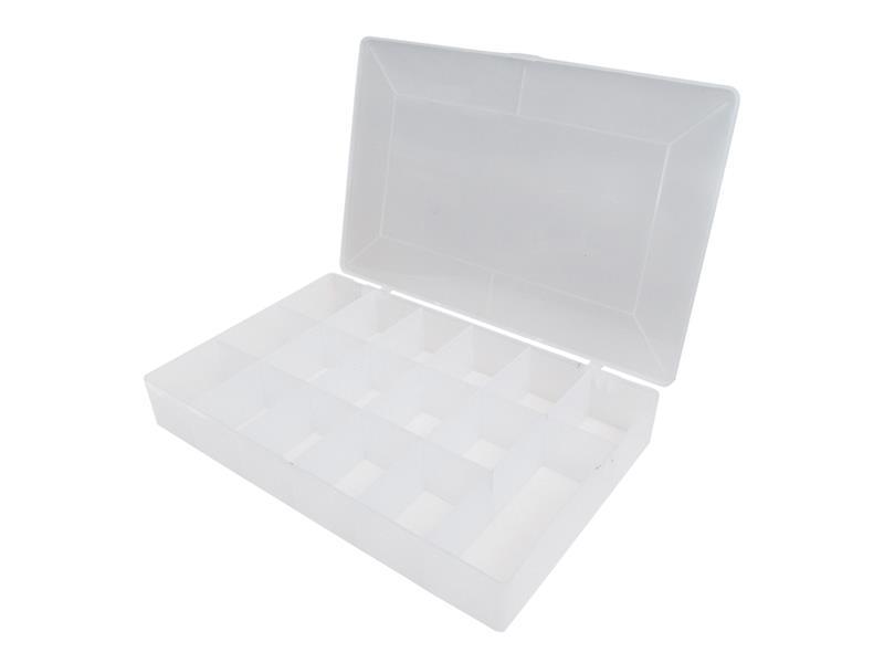 Organizér, 17 přihrádek (275x185x42mm) plastový