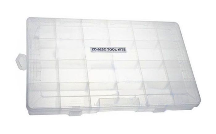 Organizér, 24 přihrádek  (370x235x48mm) plastový