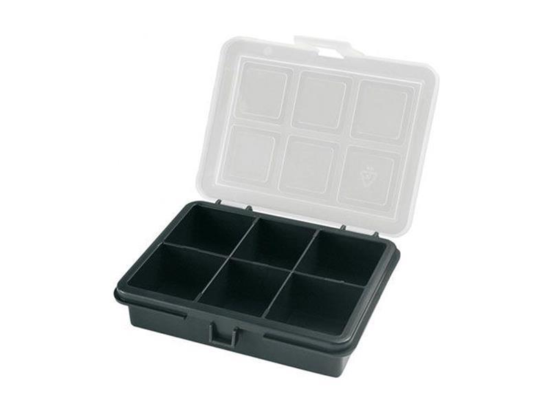 Organizér,  6 přihrádek (120x100x28mm) plastový