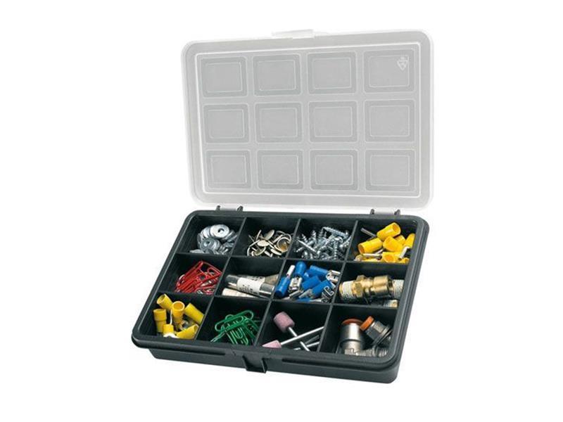 Organizér, 12 přihrádek (180x128x32mm) plastový