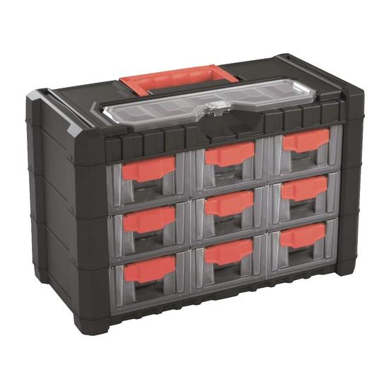 Organizér přenosný/závěsný 10 přihrádek Prosperplast NS303