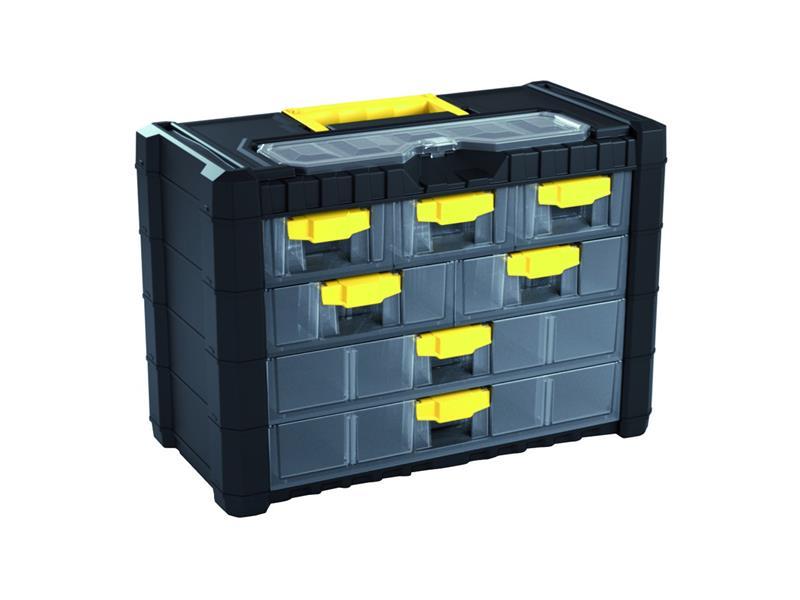 Organizér přenosný/závěsný 8 přihrádek Prosperplast NS401