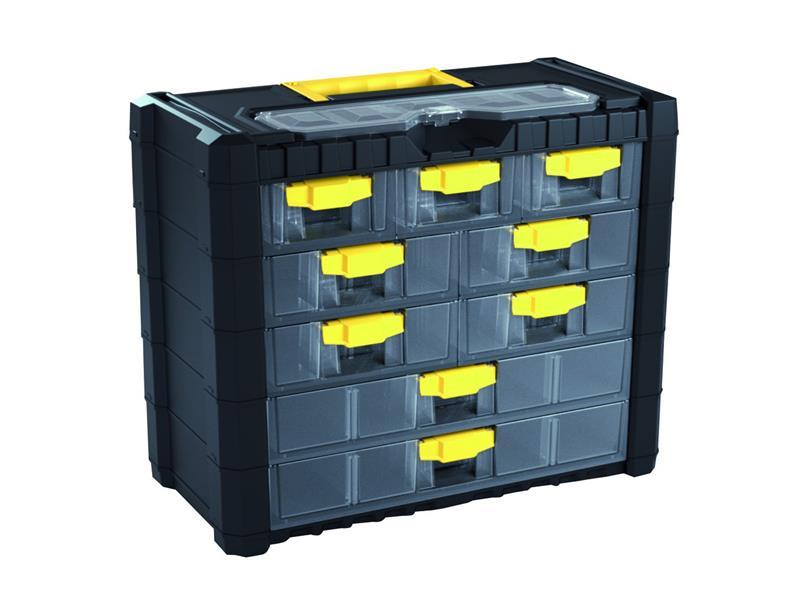 Organizér přenosný/závěsný 10 přihrádek Prosperplast NS501