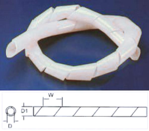 Bužírka spirálová  7.5- 60mm