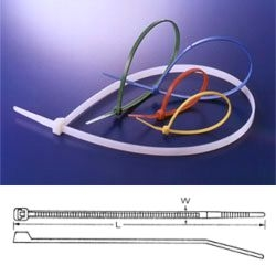 Pásek stahovací standard  380x4.8mm přírodní *
