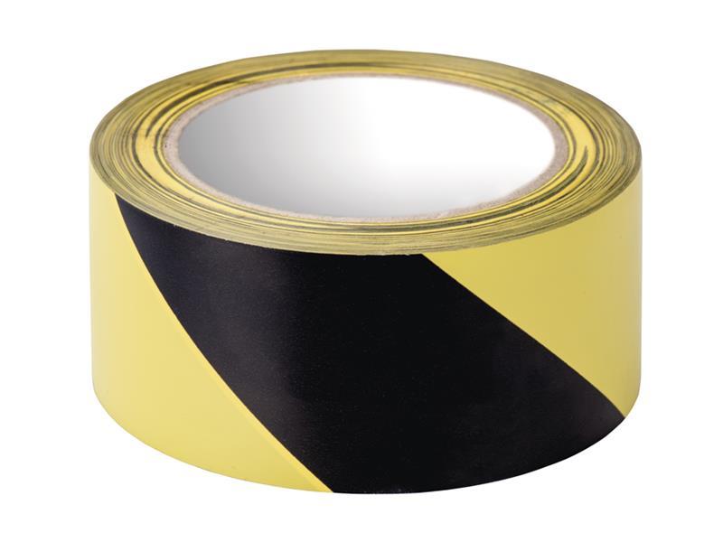 Páska vyznačovací 50mm/20m lepicí, žluto-černá  EMOS