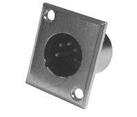 Konektor MIC panel kov  5PIN   DOPRODEJ