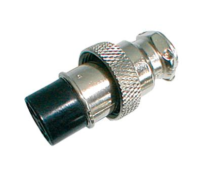 Zdířka MIC kabel kov 5PIN šroubovací