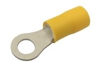 Očko  5.3mm, vodič 4.0-6.0mm  žluté