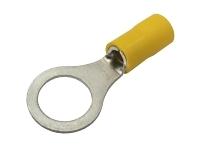 Očko 10.5mm, vodič 4.0-6.0mm  žluté