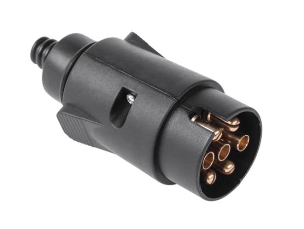 Konektor pro autopřívěs 7pin plast