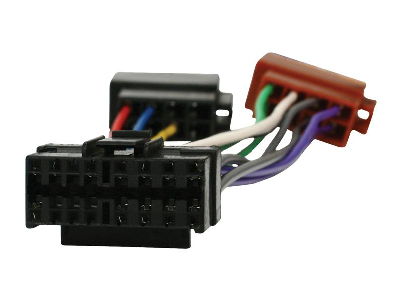ISO kabel pro autorádio JVC 16pin HQ ISO-JVC16P