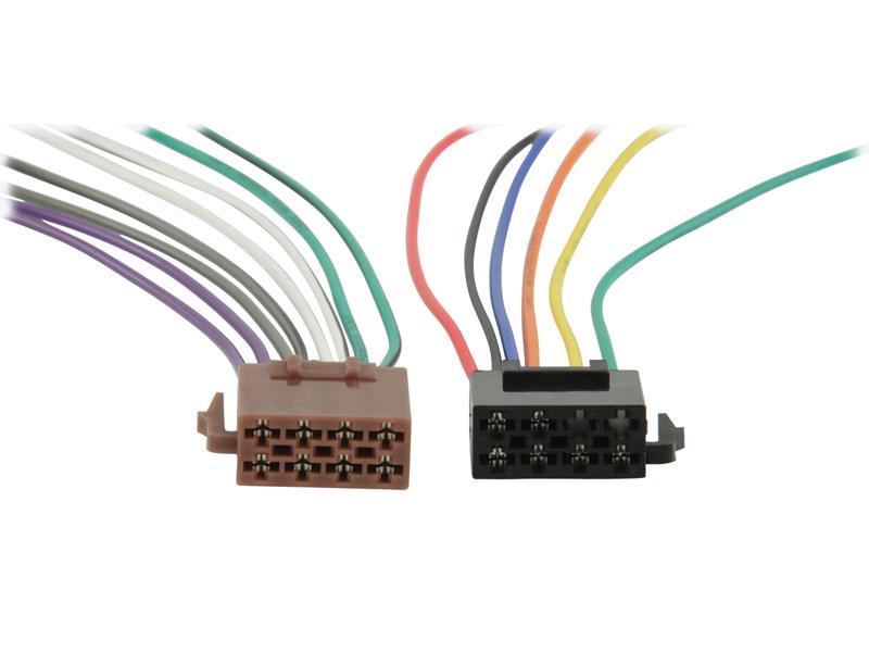 ISO kabel pro autorádio univerzální HQ ISO-STANDARD