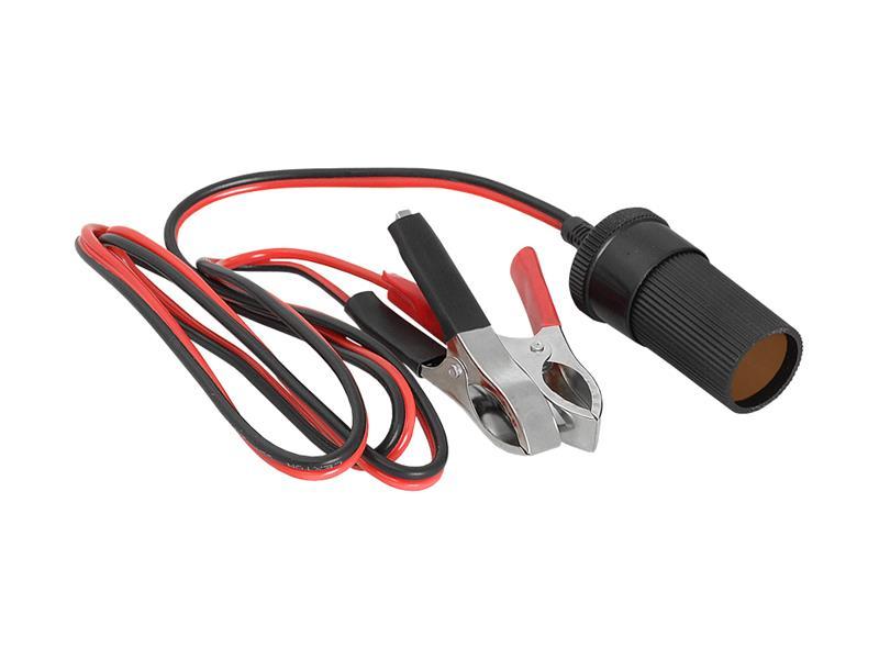 Autoadaptér LTC LXCS11 1x 12V se svorkami