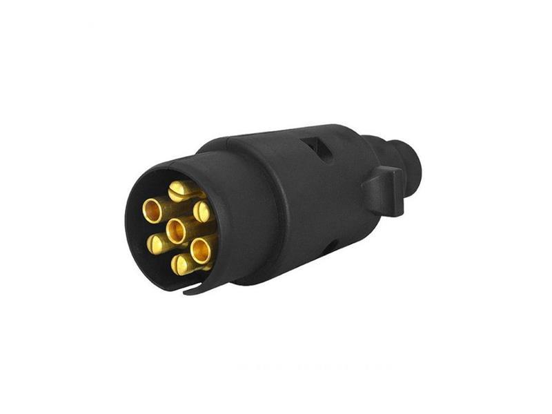 Konektor pro autopřívěs LXS20 7pin plast