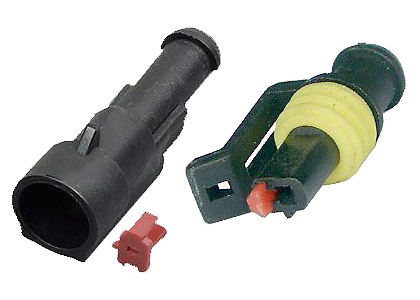 Konektor se zdířkou DJ7011-1.5-11+DJ7011-1.5-21 1P vodotěsný