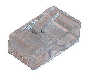 Konektor telefonní na kabel 4p-4c RJ10