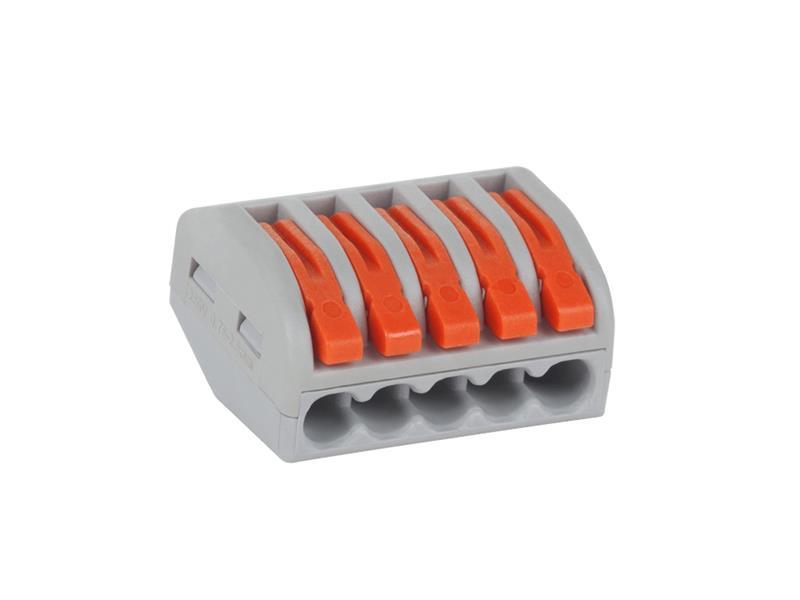 Svorka PCT58105 5 x 0,75-2,5 mm s páčkou