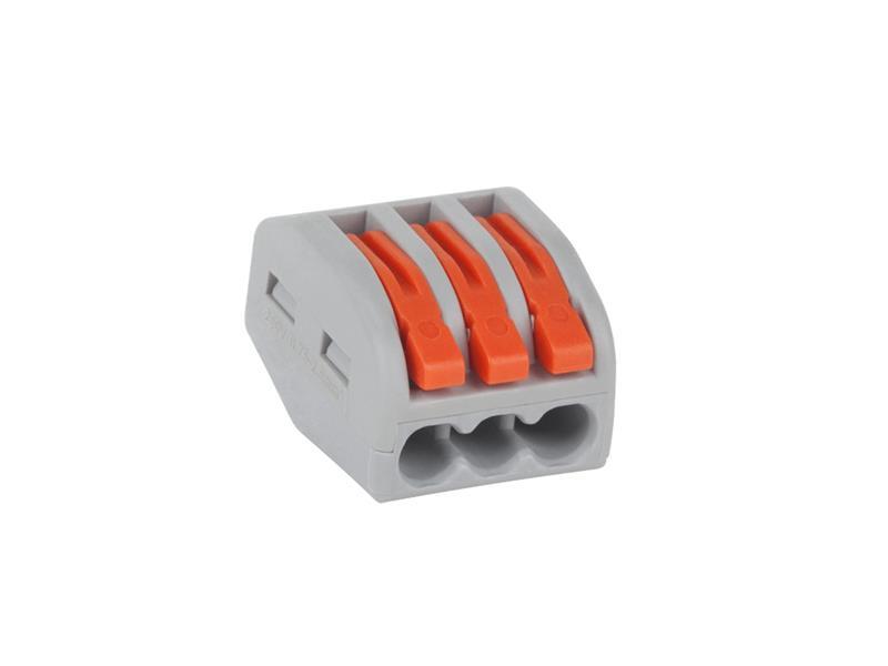 Svorka PCT58103 3 x 0,75-2,5 mm s páčkou