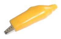 Krokosvorka  velká s bužírkou žlutá L=55mm