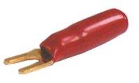 Vidlice pod svorku plast zlatá červená