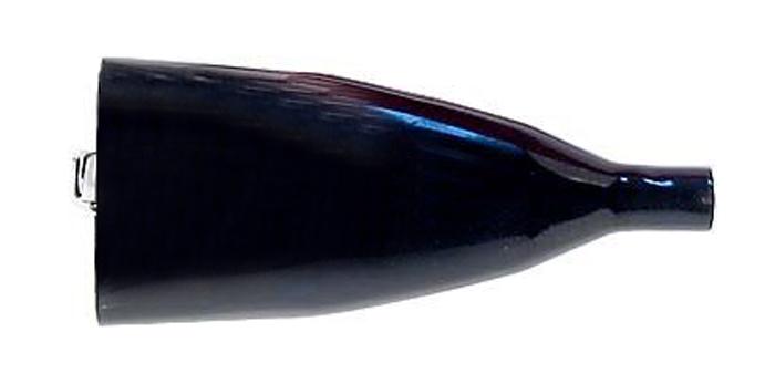 Svorka 50A černá izolovaná 110mm+izolace