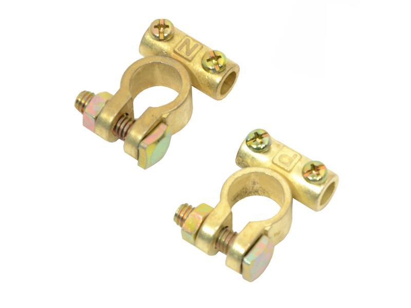 Svorky akumulátorové zinkové 2ks COMPASS 07503