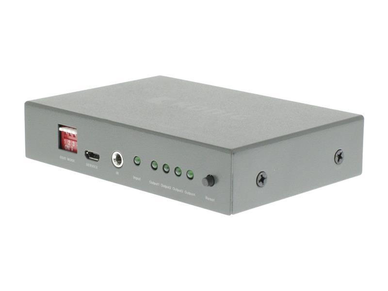 Rozbočovač 1x HDMI vstup - 4x HDMI výstup KÖNIG KNVSP3404