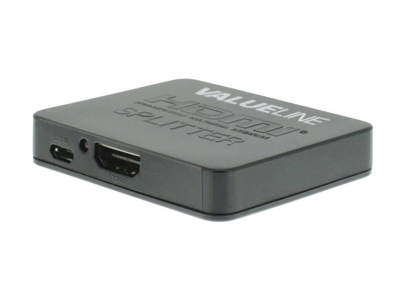 Rozbočovač 1x HDMI vstup - 2x HDMI výstup VALUELINE VLVSP3402