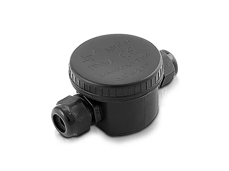Spojka kabelová V-TAC VT-881 černá