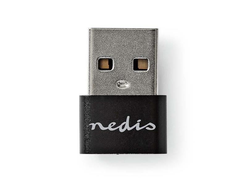 Redukce USB A - USB C NEDIS CCGP60920BK