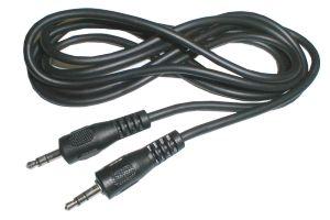 Kabel TIPA JACK 3.5 konektor/JACK 3.5 konektor 1,5m