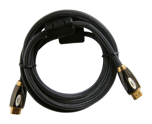 Kabel HDMI - HDMI  2m HQ (gold,ethernet,filtr) 4K