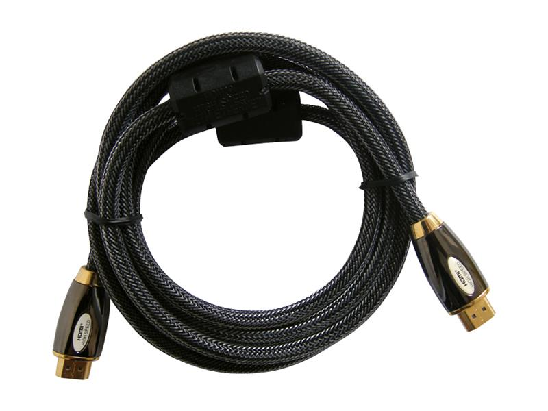 Kabel HDMI - HDMI  3m HQ (gold,ethernet,filtr) 4K