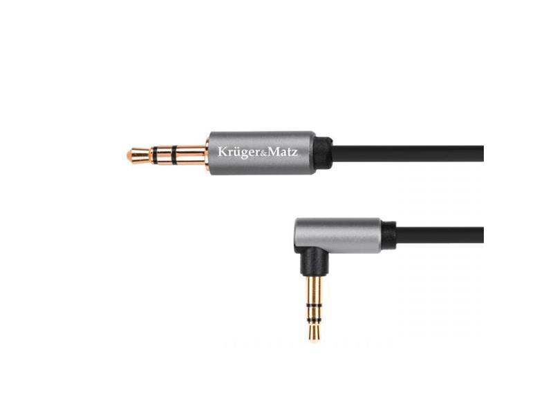 Kabel KRUGER & MATZ JACK 3.5 konektor/JACK 3.5 konektor 1m