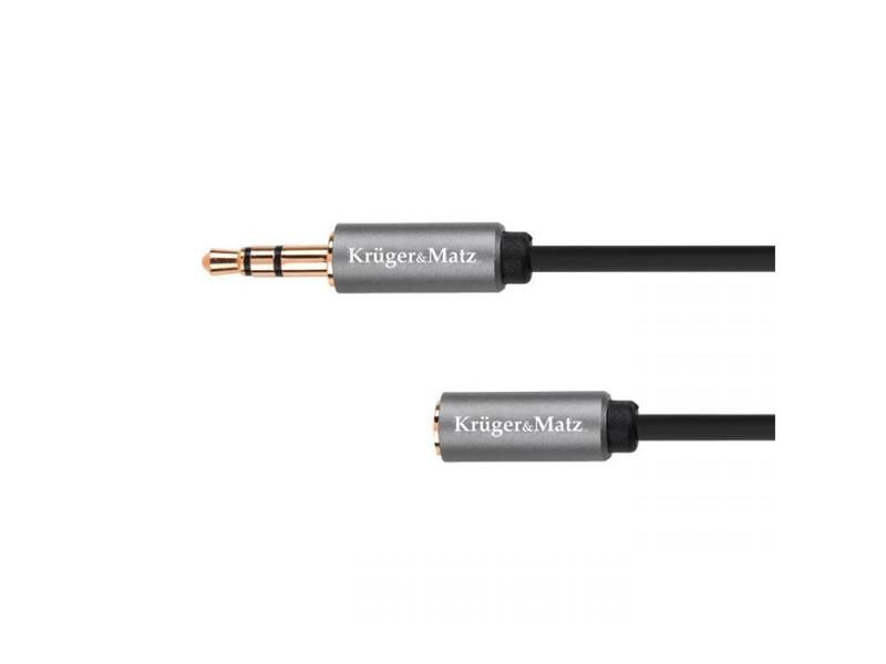 Kabel KRUGER & MATZ JACK 3.5 konektor/JACK 3.5 zdířka 1,8m
