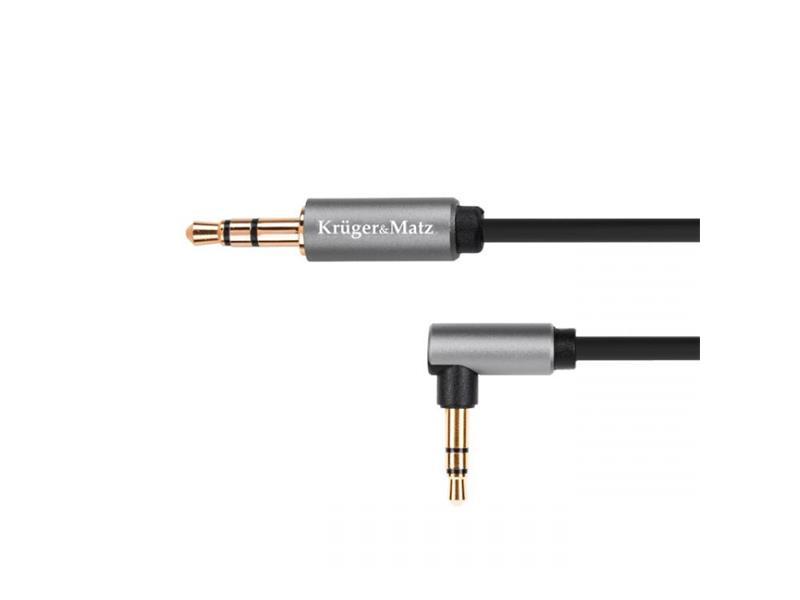 Kabel KRUGER & MATZ JACK 3.5 konektor/JACK 3.5 konektor 1,8m