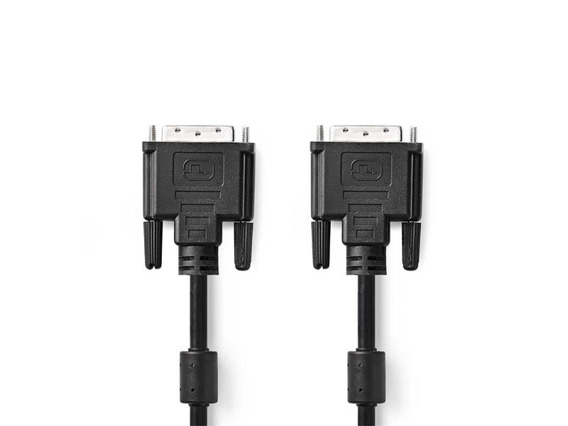 Kabel NEDIS 1x DVI konektor - 1x DVI konektor 2m